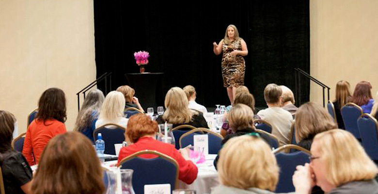 Jennifer Bourn Speaking at Today's Innovative Woman Magazine Success Summit