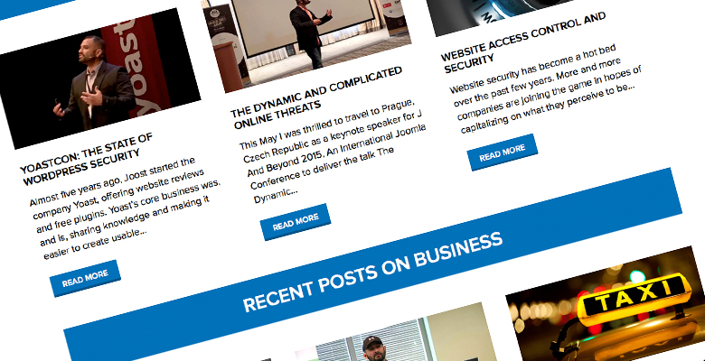 Tony Perez Personal Brand WordPress Site Design and Development